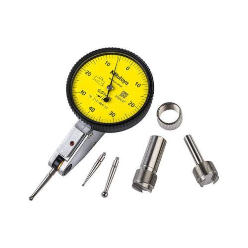 Đồng hồ so chân gập 0.8mm/0.01mm (Plus Set) - 513-404-10A - Mitutoyo
