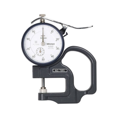 Đồng hồ đo độ dày 0-10mm/0.01mm - 7301 - Mitutoyo