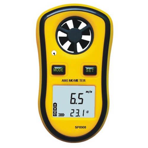 Công dụng của máy đo tốc độ gió