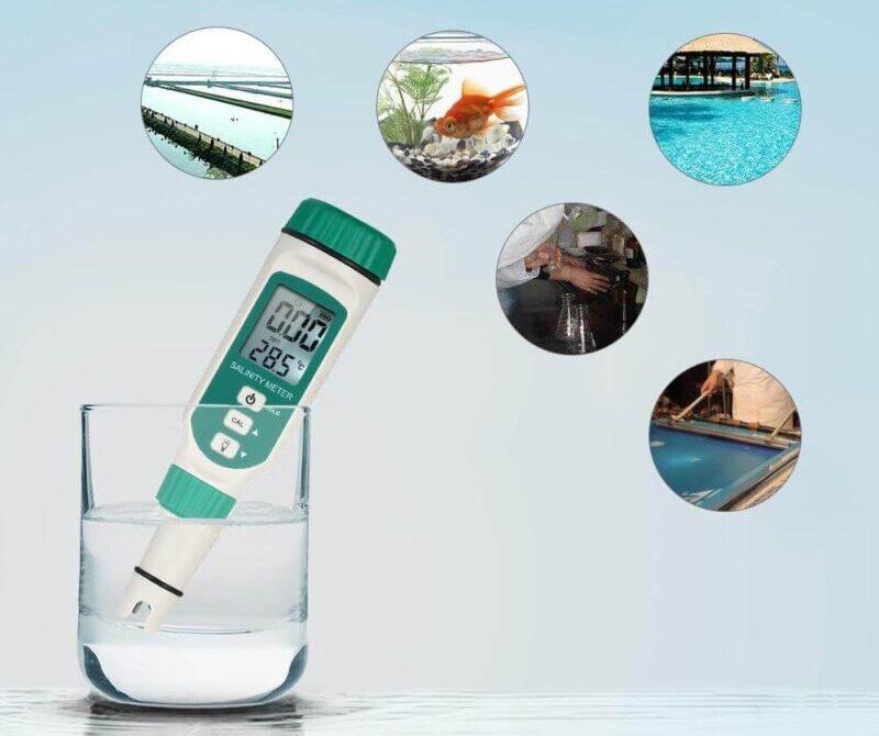 Chỉ số đo độ mặn trong nước
