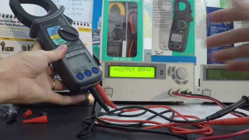 Cơ chế hoạt động của Ampe kìm