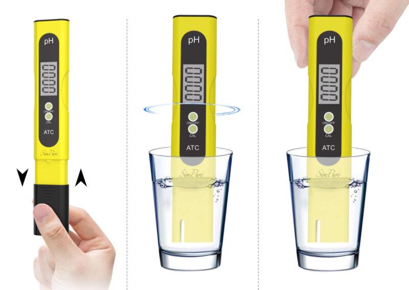 Những chú ý khi sử dụng máy đo pH