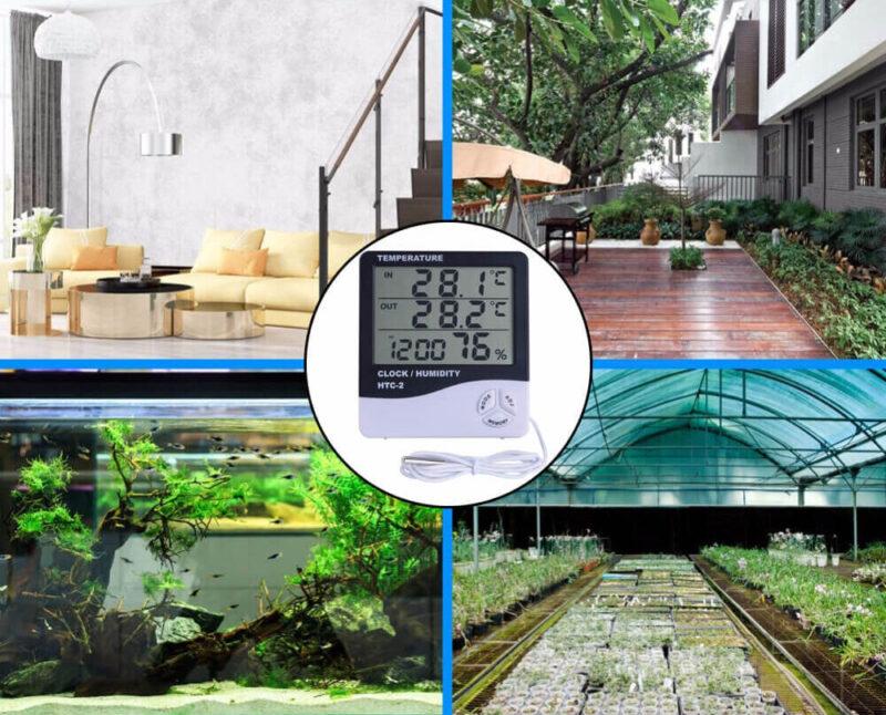 Ứng dụng của máy đo độ ẩm