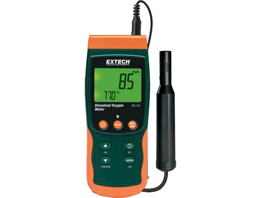 Cấu tạo của máy đo oxy hòa tan