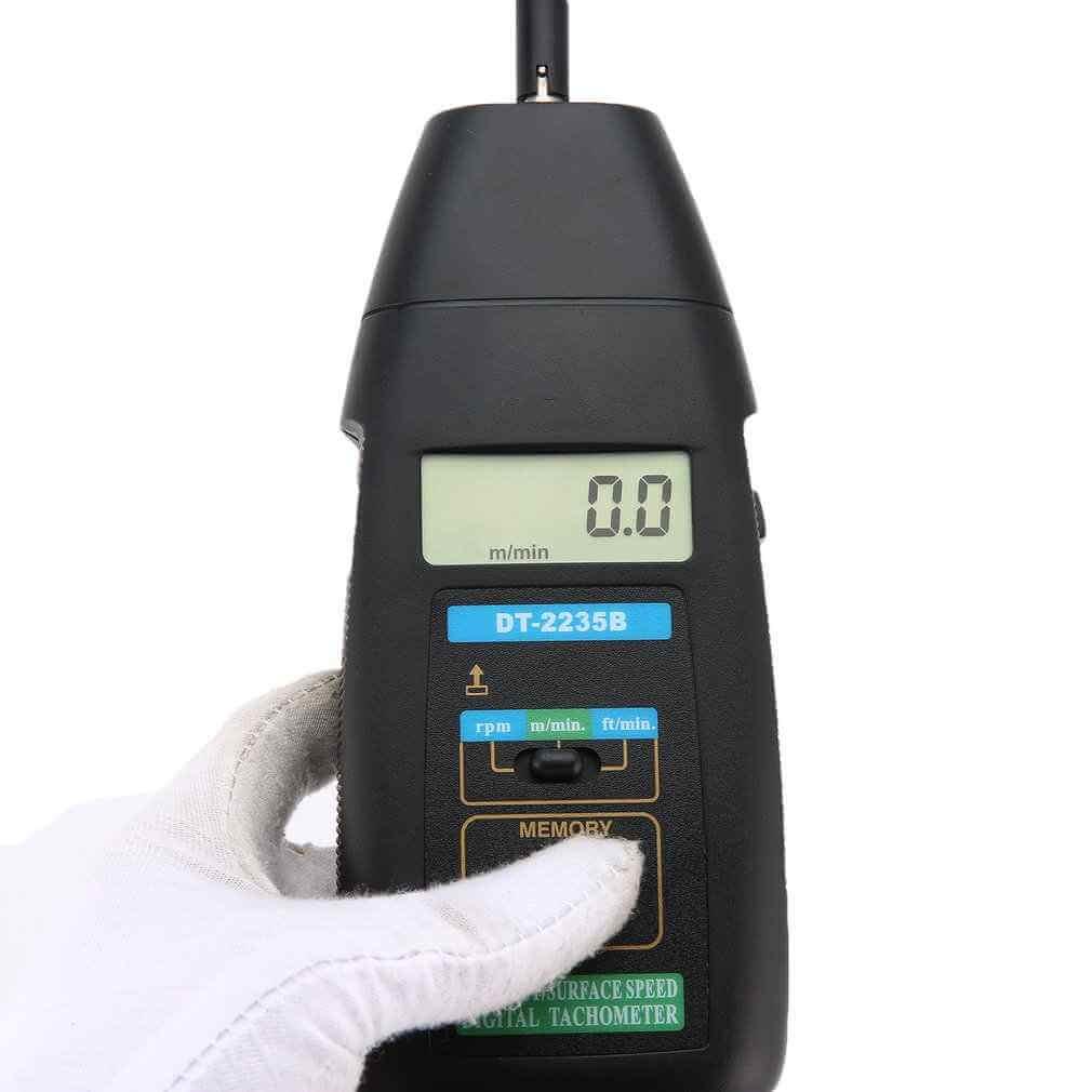 Cấu tạo của máy đo tốc độ vòng quay