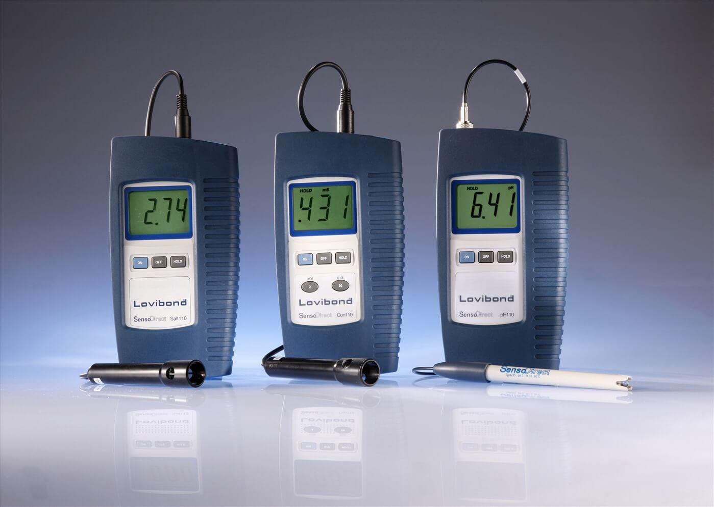 Cấu tạo máy đo pH cầm tay