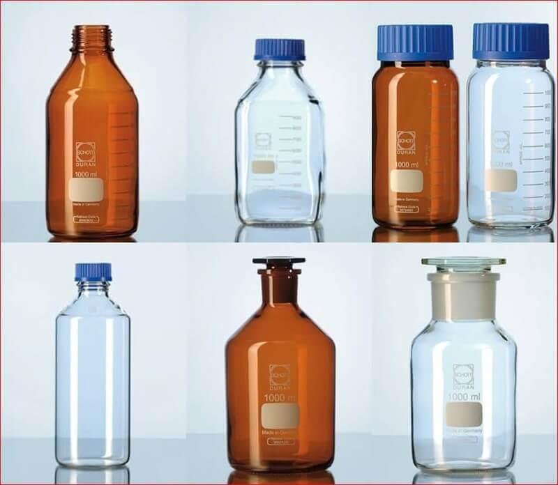 Chai chứa thủy tinh