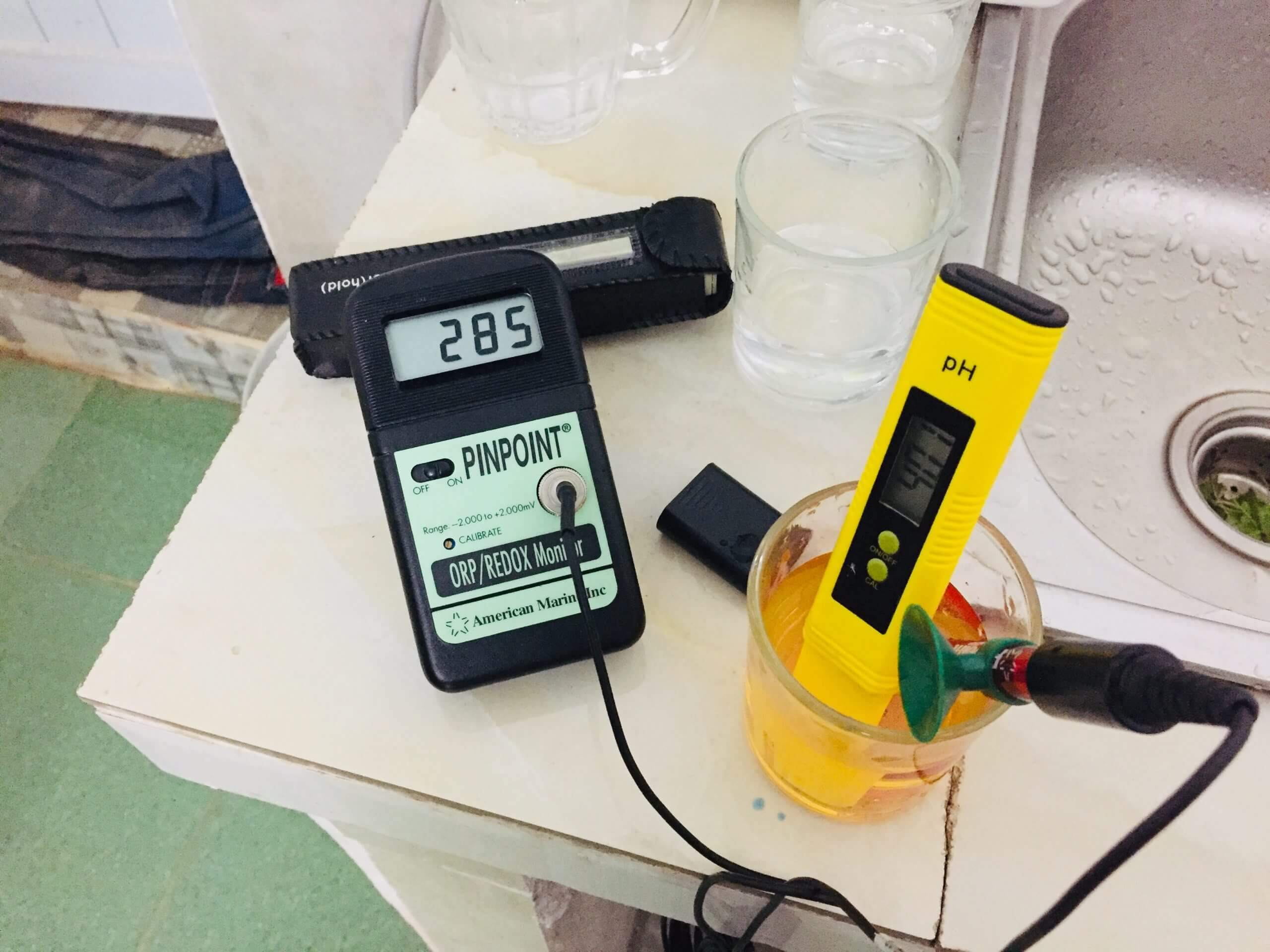 Công dụng của máy đo pH nước