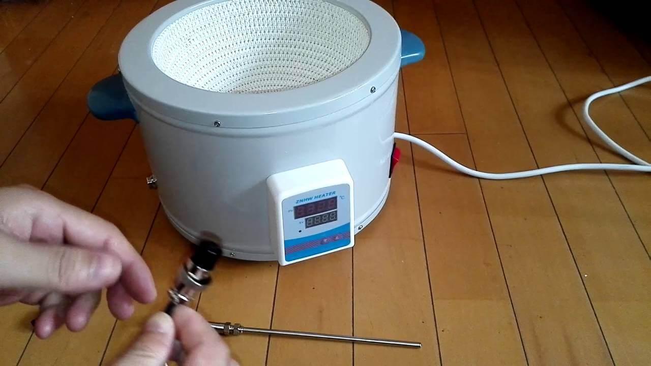 Hướng dẫn sử dụng và bảo quản bếp đun bình cầu