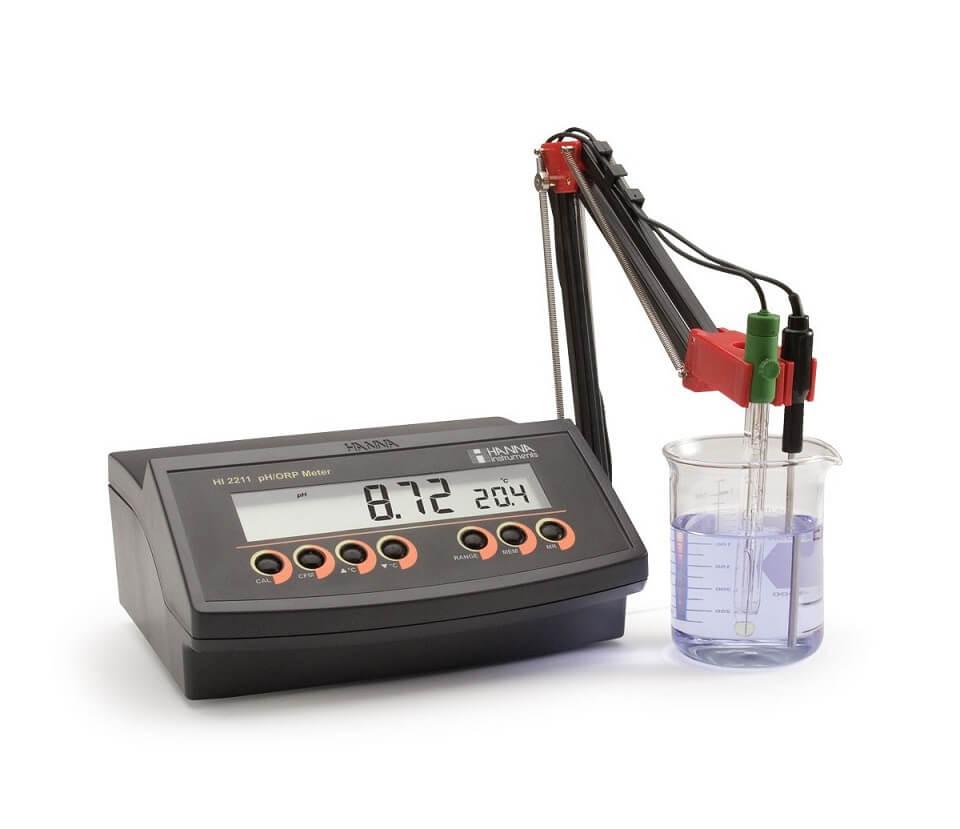 Khái niệm máy đo pH để bàn