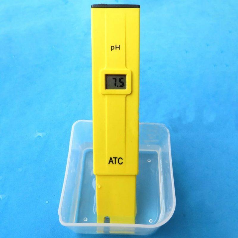 Khái niệm máy đo pH nước
