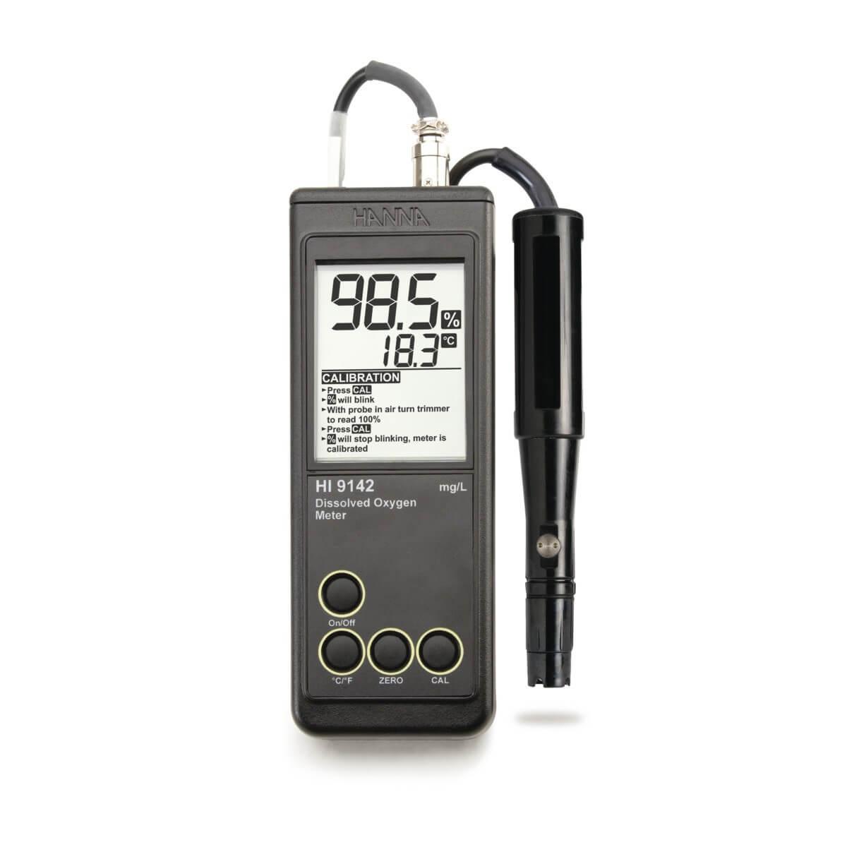 Máy đo oxy hòa tan DO Hanna HI9142