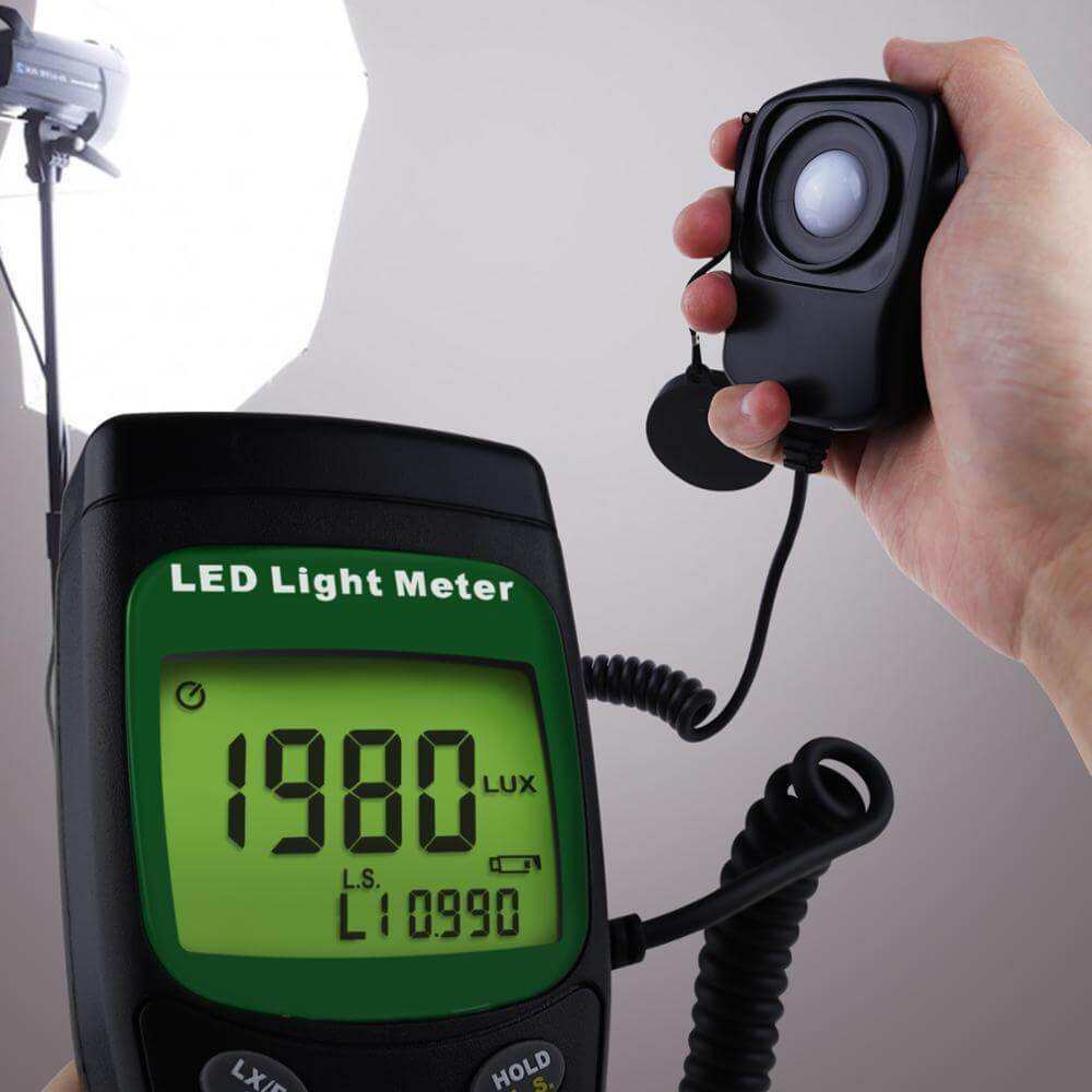 Mục đích sử dụng của máy đo cường độ ánh sáng