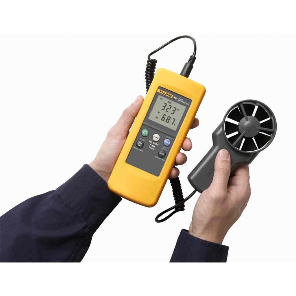 Nguyên lý hoạt động của máy đo tốc độ gió