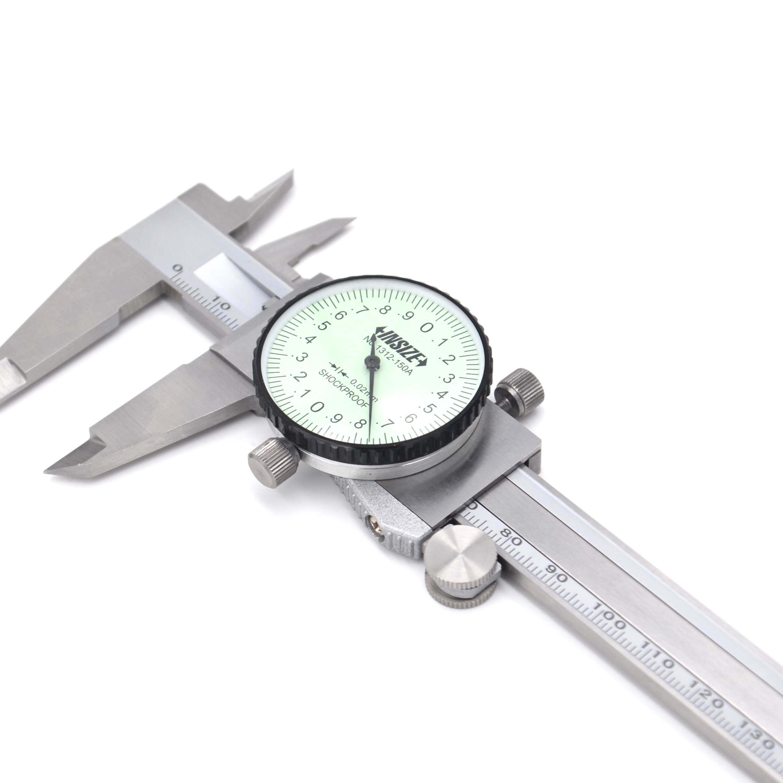 Thước kẹp đồng hồ Insize 1312- 150A