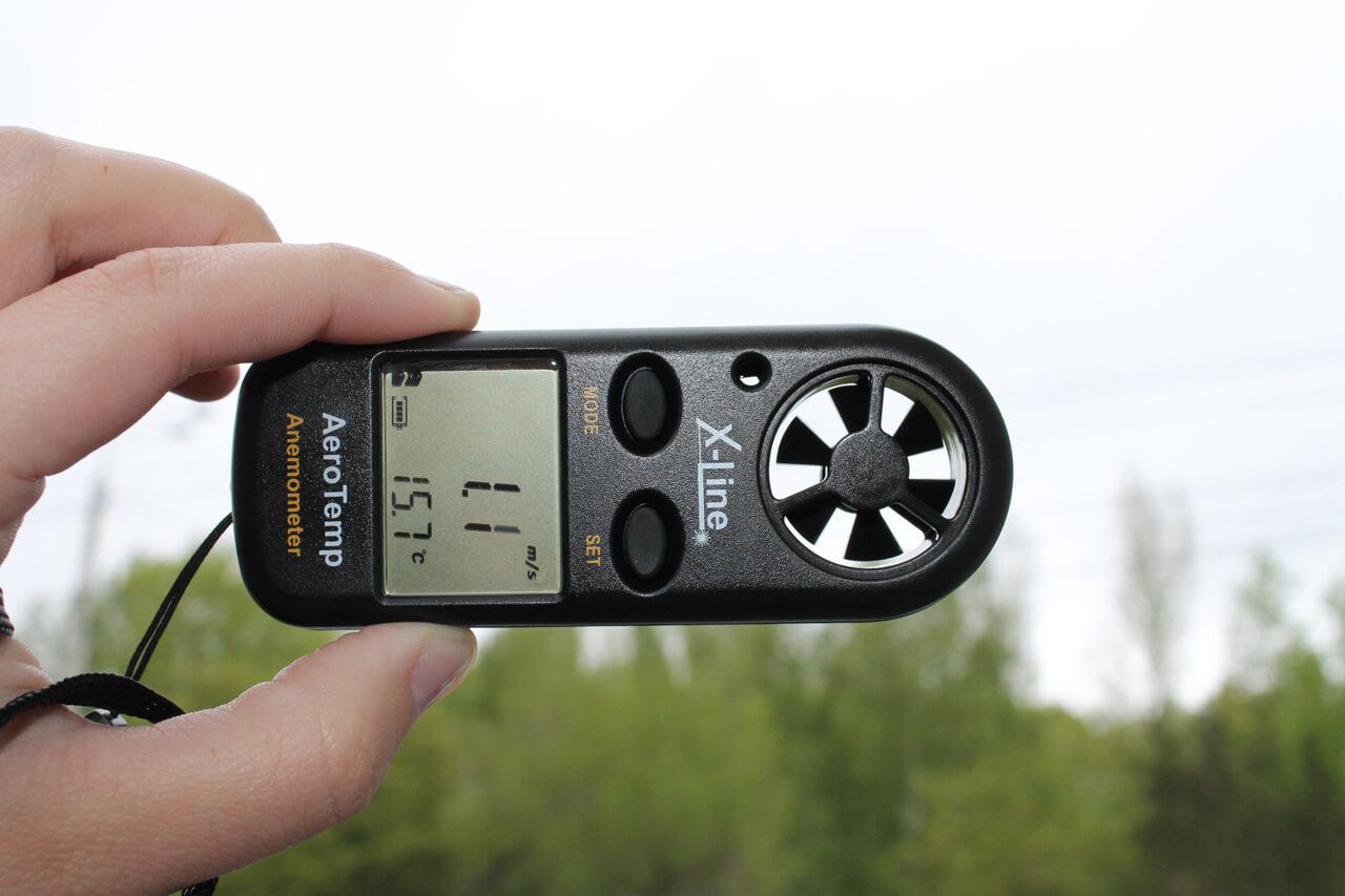 Tính năng của máy đo tốc độ gió