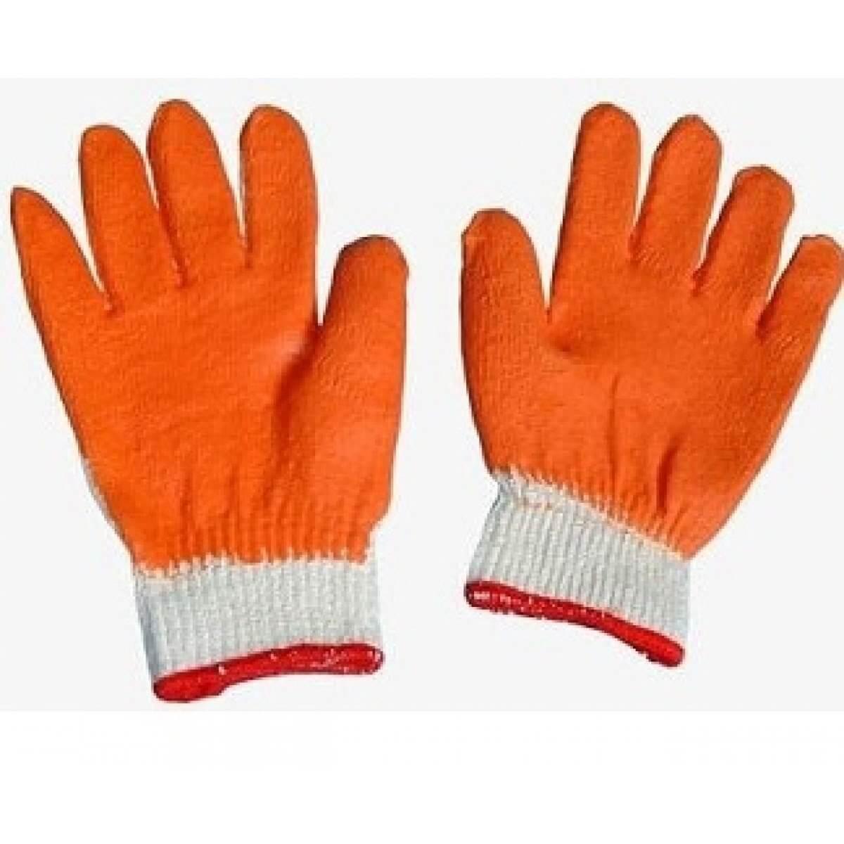 Găng tay vải tráng nhựa-cao su