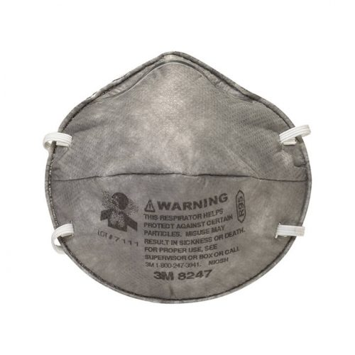 Khẩu trang chống bụi, hóa chất 8247 - WX700900169 - 3M