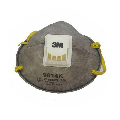 Khẩu trang chống hóa chất 9914 Có Van - WX700900250 - 3M