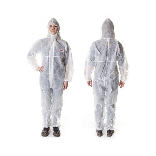 Quần áo bảo vệ 4500, trắng (Size XL) - GT700000679 - 3M
