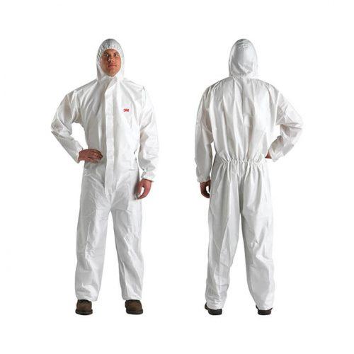 Quần áo bảo vệ 4510, màu trắng - 3M