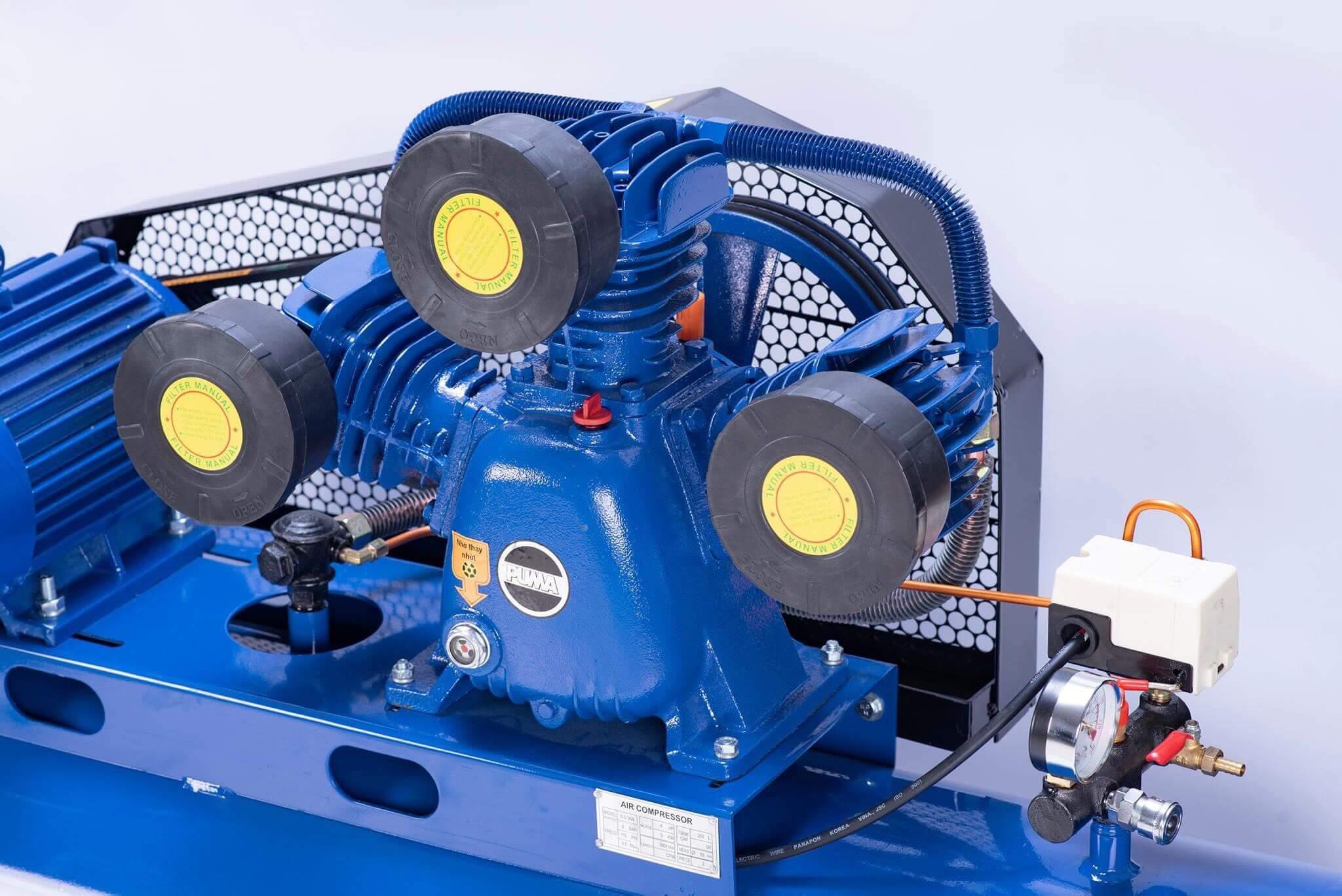 Nguyên lý vận hành cơ bản của máy nén khí