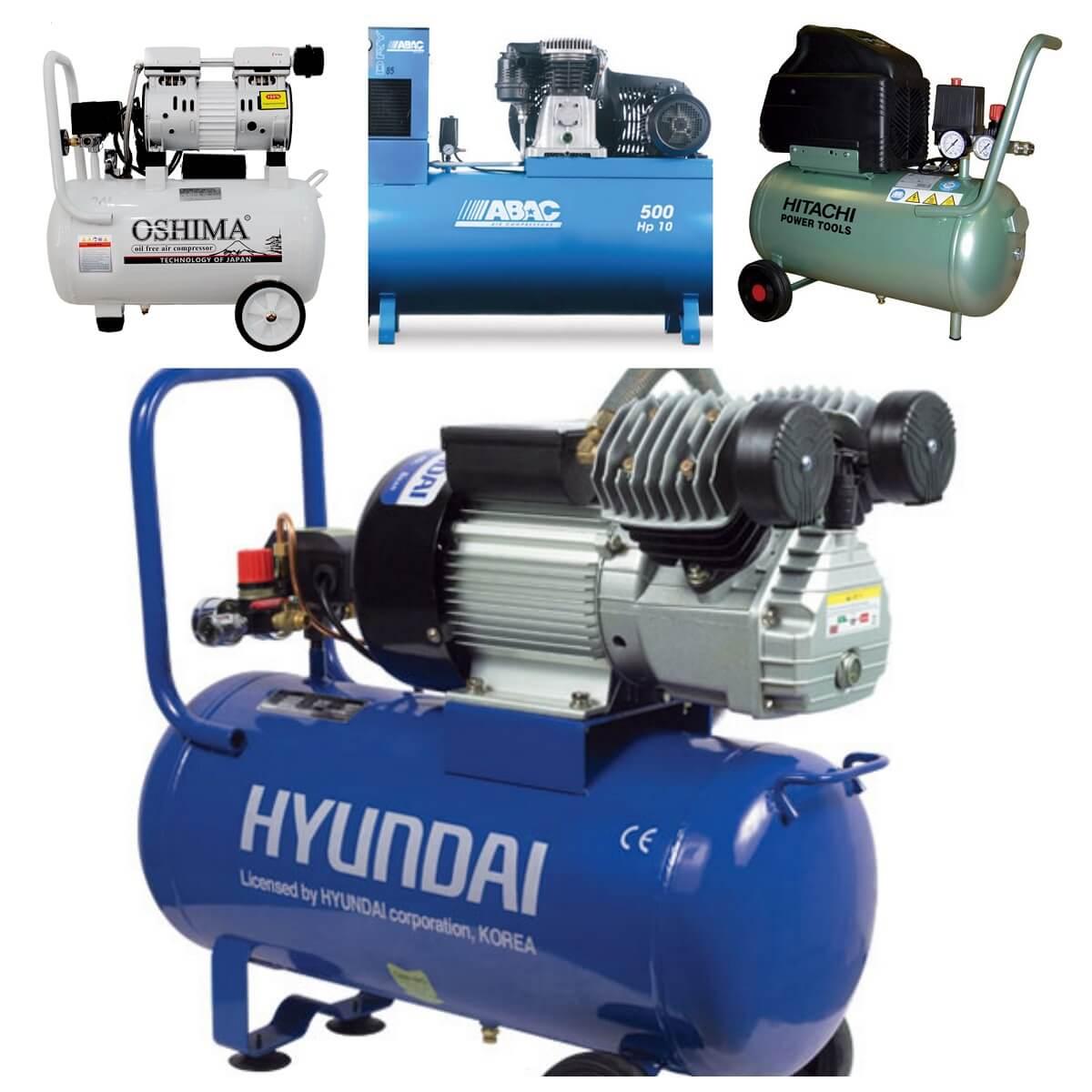 Phân loại chính của máy nén khí