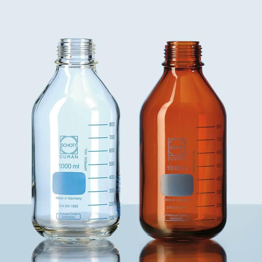 Tiêu chuẩn của các loại chai trung tính trong phòng thí nghiệm