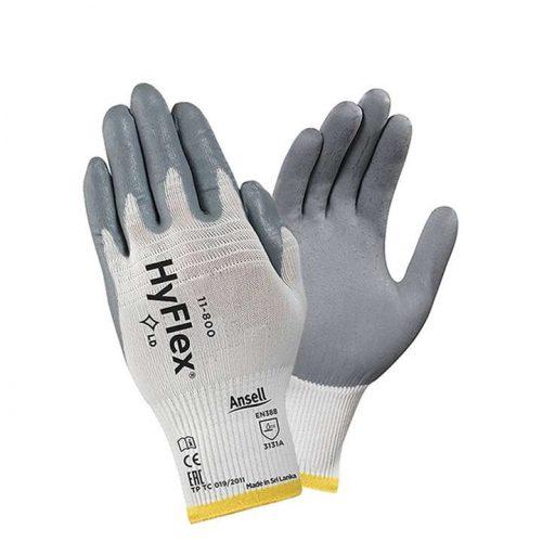 Găng tay bảo hộ phủ Nitrile HyFlex 11- 800 - Ansell